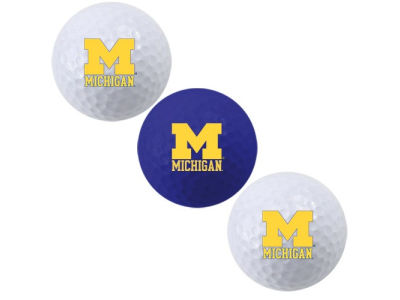 Michigan Wolverines 3-pack Golf Ball Set