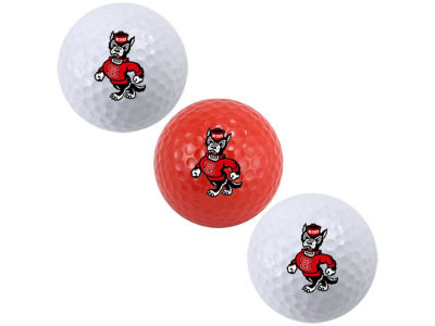North Carolina State Wolfpack 3-pack Golf Ball Set