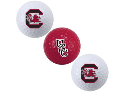 South Carolina Gamecocks 3-pack Golf Ball Set