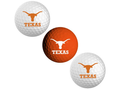 Texas Longhorns 3-pack Golf Ball Set
