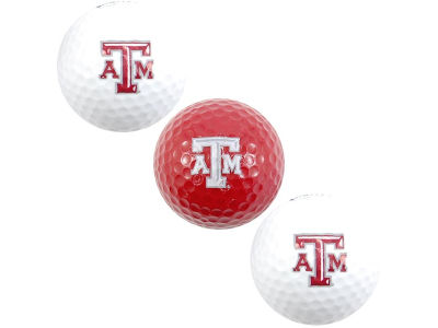 Texas A&M Aggies 3-pack Golf Ball Set