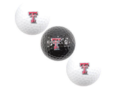 Texas Tech Red Raiders 3-pack Golf Ball Set
