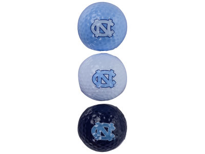 North Carolina Tar Heels 3-pack Golf Ball Set