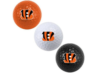 Cincinnati Bengals 3-pack Golf Ball Set
