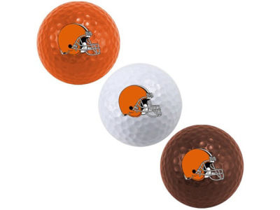 Cleveland Browns 3-pack Golf Ball Set