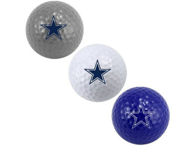 Dallas Cowboys 3-pack Golf Ball Set