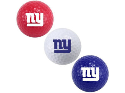 New York Giants 3-pack Golf Ball Set