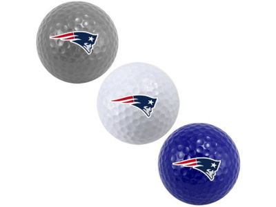 New England Patriots 3-pack Golf Ball Set
