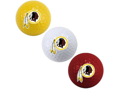 Washington Redskins 3-pack Golf Ball Set