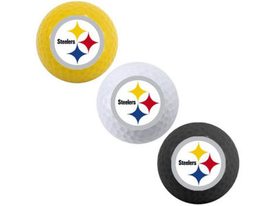 Pittsburgh Steelers 3-pack Golf Ball Set