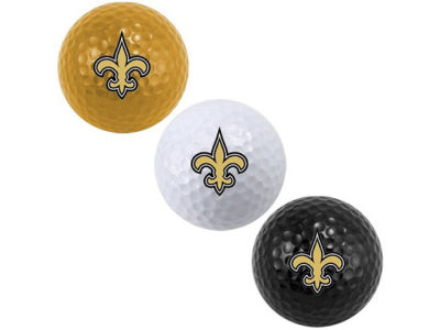 New Orleans Saints 3-pack Golf Ball Set