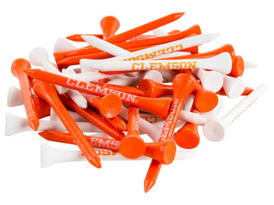 Clemson Tigers 50pk Golf Tees