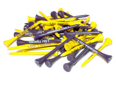LSU Tigers 50pk Golf Tees