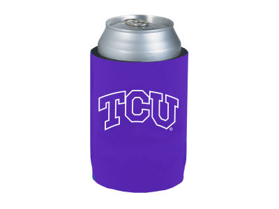 Texas Christian Horned Frogs Can Coozie