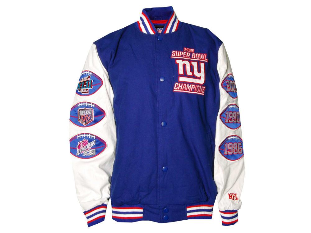 New York Giants NFL Varsity Commemorative Jacket  31a8fe280