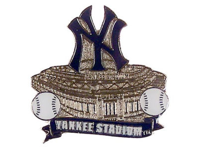New York Yankees Aminco Stadium Pin