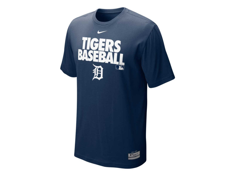 Detroit Tigers Nike MLB Men s AC Dri-Fit Cotton Graphic T-Shirt ... d7f65c10c
