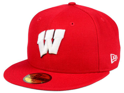 Wisconsin Badgers New Era NCAA AC 59FIFTY Cap
