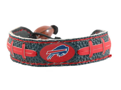 Buffalo Bills Team Color Football Bracelet