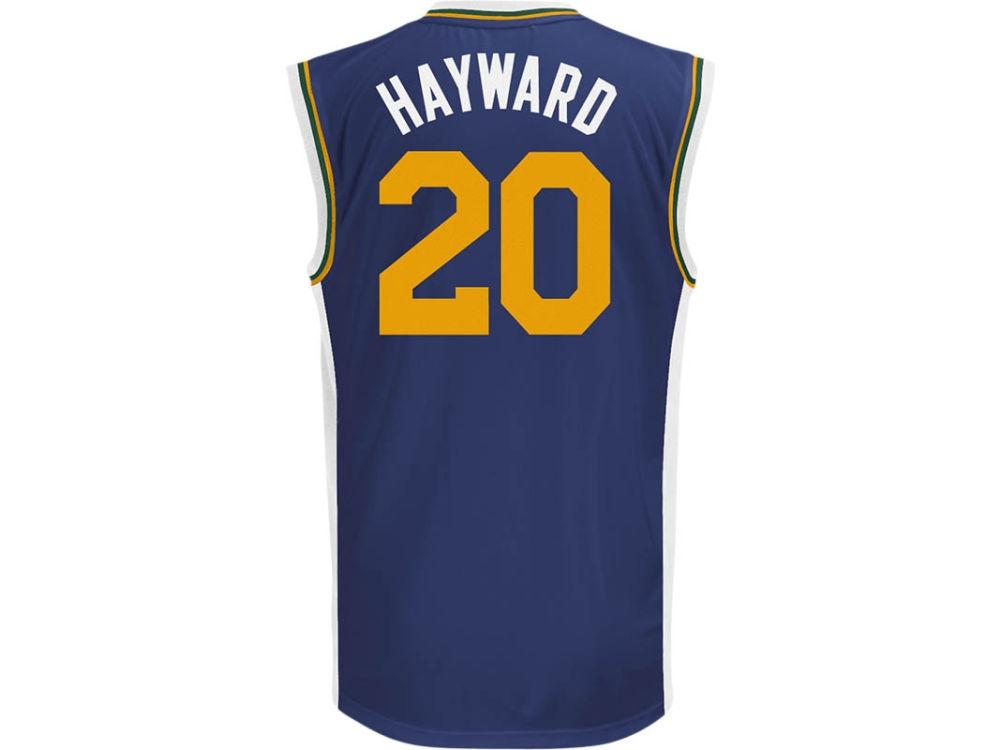 a76c90564 ... Swingman Jersey Utah Jazz Gordon Hayward adidas NBA Rev 30 Replica  Jersey ...