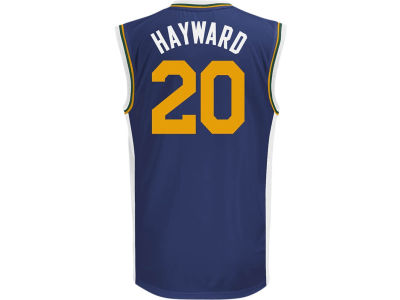 Utah Jazz Gordon Hayward adidas NBA Rev 30 Replica Jersey