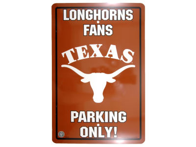 Texas Longhorns Parking Sign