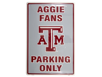 Texas A&M Aggies Parking Sign