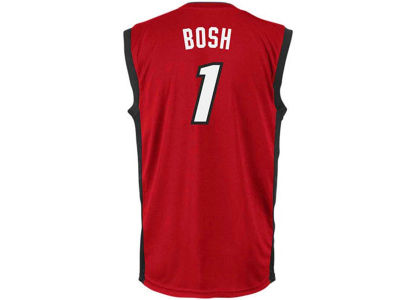 Miami Heat Chris Bosh adidas NBA Rev 30 Replica Jersey