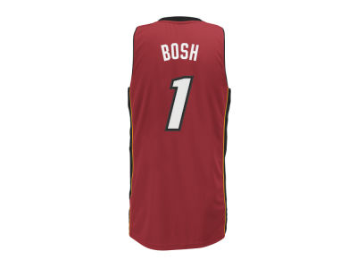 Miami Heat Chris Bosh adidas NBA Revolution 30 Swingman Jersey
