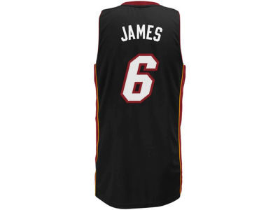 Miami Heat LeBron James adidas NBA Revolution 30 Swingman Jersey