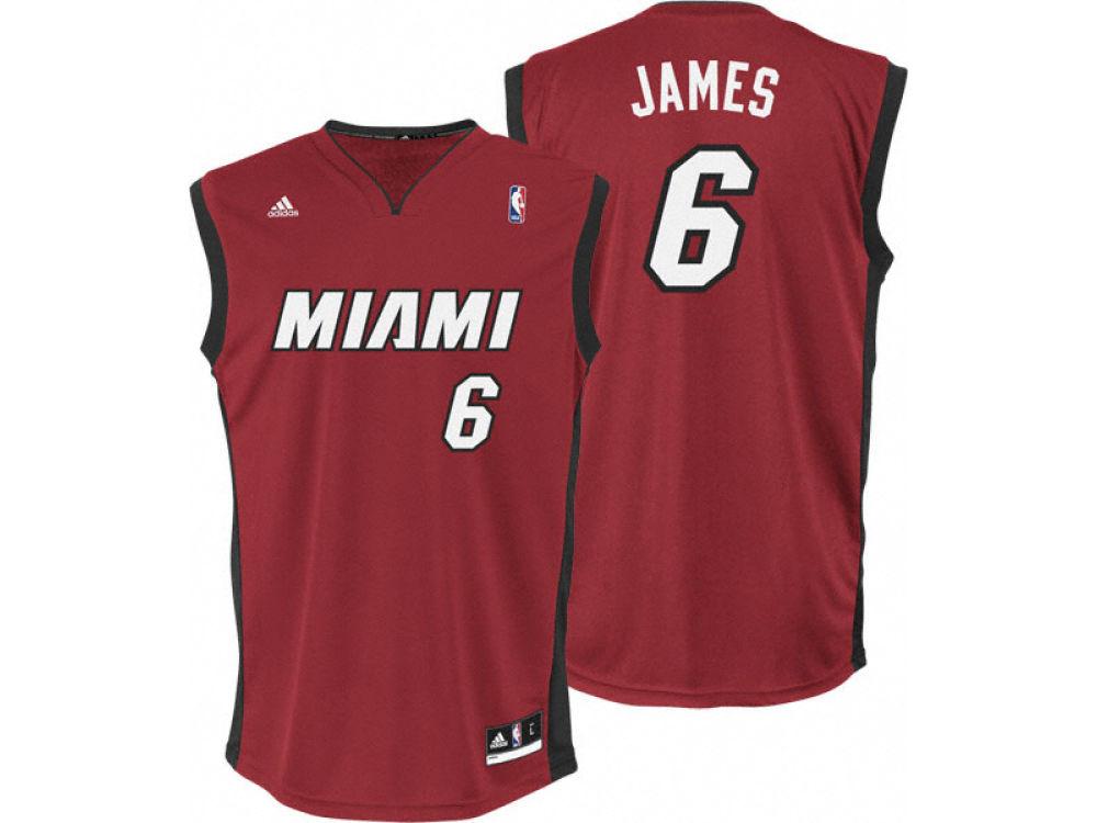 86afca4f12f9 ... discount code for miami heat lebron james nba youth rev 30 replica  jersey 3c844 75a30