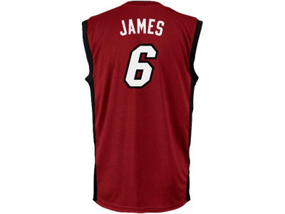 Miami Heat LeBron James NBA Youth Revolution 30 Swingman Jersey