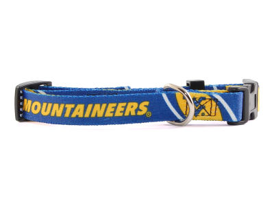 West Virginia Mountaineers Small Dog Collar