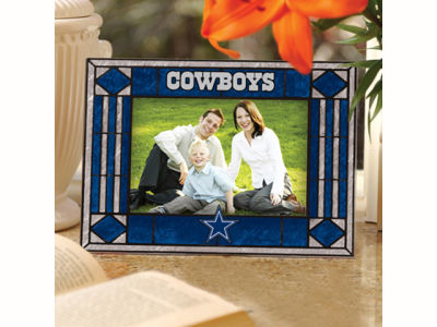 Dallas Cowboys Art Glass Picture Frame