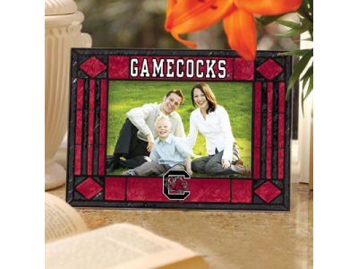 South Carolina Gamecocks Art Glass Picture Frame