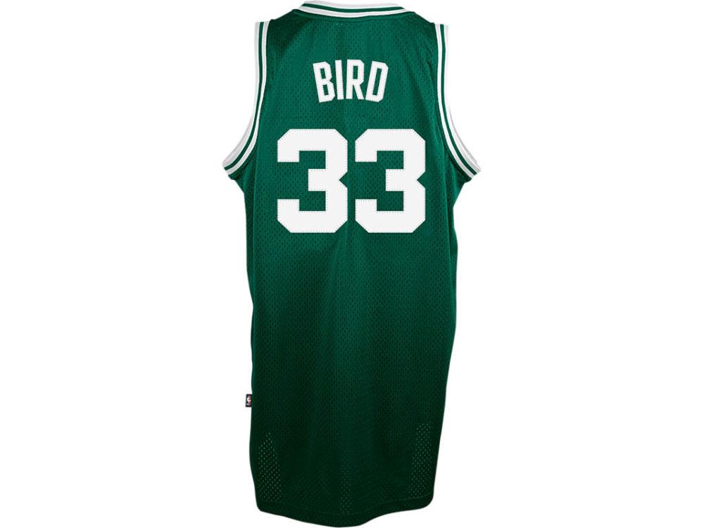Boston Celtics Larry Bird adidas NBA Men s Retired Player Swingman Jersey  12c507f46