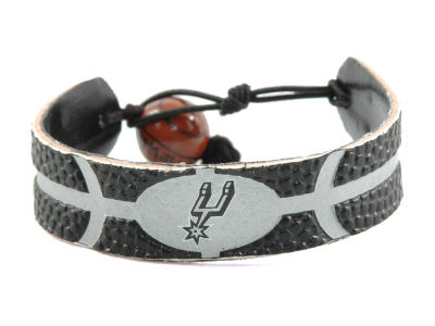 San Antonio Spurs Team Color Basketball Bracelet