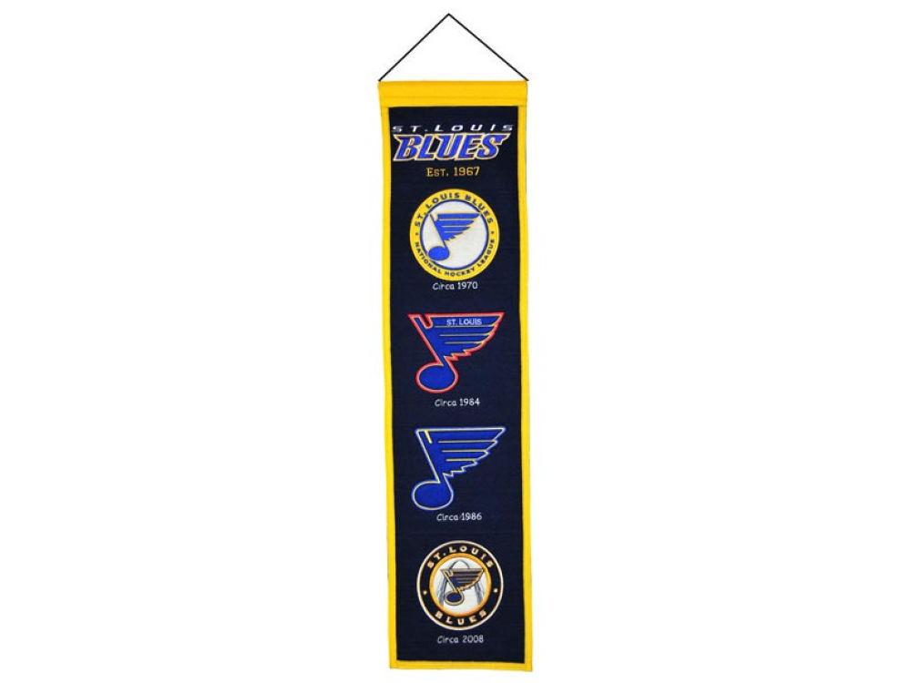 e139754f8 St. Louis Blues Winning Streak Heritage Banner