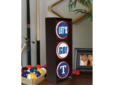 Texas Rangers Flashing Lets Go Light