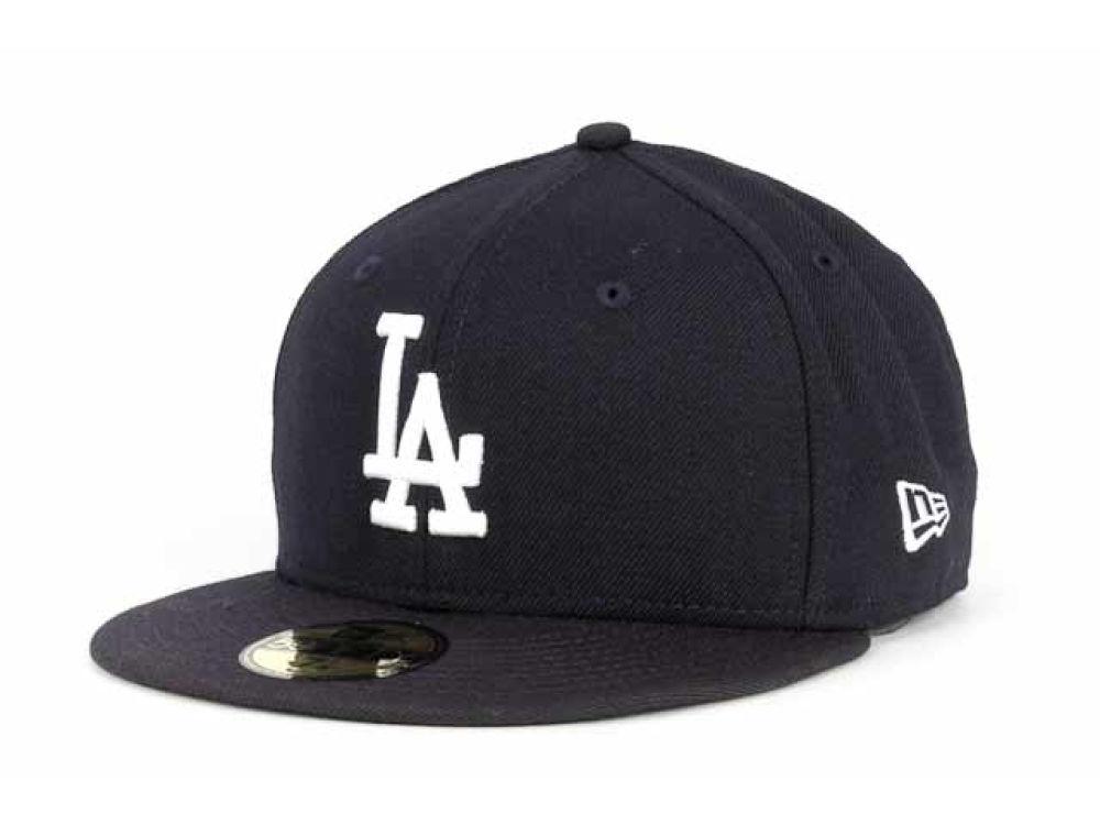 a585affe Los Angeles Dodgers New Era MLB C-Dub 59FIFTY Cap