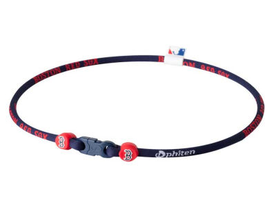 Boston Red Sox Phiten MLB X30 Necklace