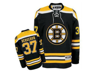 Boston Bruins Patrice Bergeron Reebok NHL Premier Player Jersey