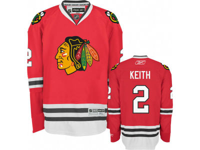 Chicago Blackhawks Duncan Keith Reebok NHL Premier Player Jersey