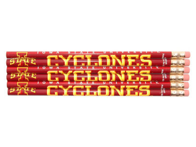 Iowa State Cyclones 6-pack Pencils