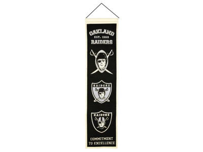 Oakland Raiders Heritage Banner