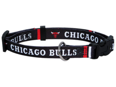 Chicago Bulls Large Dog Collar