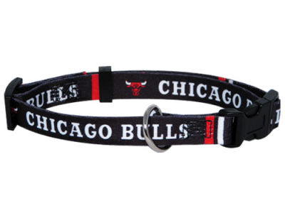 Chicago Bulls Medium Dog Collar