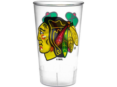 Chicago Blackhawks Single Plastic Tumbler
