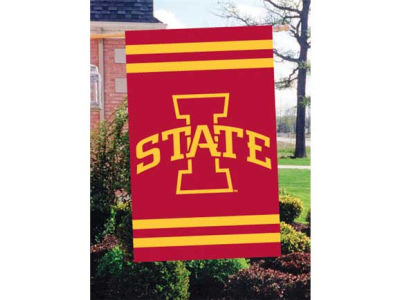 Iowa State Cyclones Applique House Flag