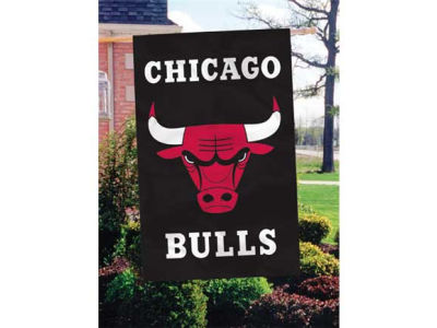 Chicago Bulls Applique House Flag